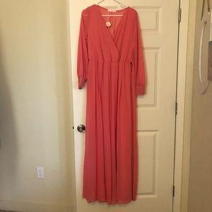 Pinkblush pink maternity dress